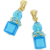 ベネチアンブルーイヤリング - Earrings - ¥6,300  ~ $55.98