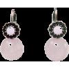 天然石ピアス/ピンク - Earrings - ¥6,930  ~ $61.57