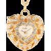 ハートネックレスウォッチ/ゴールド - Necklaces - ¥6,090  ~ $54.11