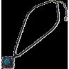 クリスタルフラワーネックレス/ブルー - Jewelry - ¥5,880  ~ $52.24