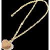 キラキラハートペンダント/ライトピーチ - Jewelry - ¥10,500  ~ $93.29