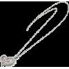 クリスタルハートネックレス/シルバー - Jewelry - ¥11,550  ~ $102.62