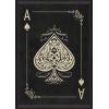 ace of spades in black and white - Illustrazioni -