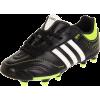 adidas 11Nova TRX FG Soccer Shoe (Little Kid/Big Kid) Black/White/Slime - Sneakers - $55.00