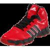 adidas Men's Response LT Basketball Shoe University Red/Black/Running White - Sneakers - $42.59