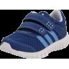 adidas STA Fluid CF Sneaker (Infant/Toddler) Power Blue/Super Blue/Running White - Sneakers - $35.00
