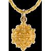 ドブロブニクのボタン ペンダントヘッド(14金) 大 - Necklaces - ¥32,000  ~ $284.32