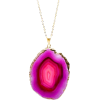agate necklace leifshop - Collares -