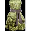 Strapless Bubble Dress (Front) - Dresses - $97.99