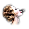 Girl with cigarette - People -