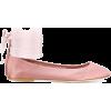 ankle tie ballerinas - scarpe di baletto -