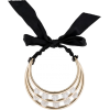 anvin Crystal Three-Bar Choker Necklace  - Collares -