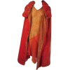 art deco 1920s dress and coat in red - Dresses -