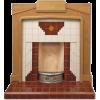art deco style fireplace - Mobília -