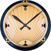 art deco style wall clock - Predmeti -