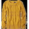 autumn gold sweater - Puloverji -