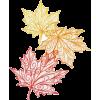 autumn leafs art - Illustrations -