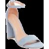 baby blue sandals - Sandals -