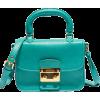 Hand Bag Blue - Kleine Taschen -