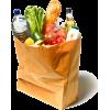 bag of groceris - Živila -