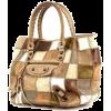 balenciaga-shopping-bag-in-beige-brown-a - Hand bag -