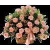 basket w flowers - Biljke -
