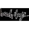 beach days text - Textos -