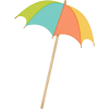 beach umbrella - Items -
