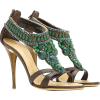 beaded sandals - Sandalias -