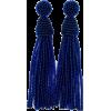 beaded tassel earrings - Earrings -