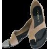 beige sandals - サンダル -