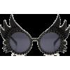 Betty Sunglasses Black - Sunglasses -