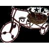 Bicikl Vehicles Brown Brown - Vehicles -
