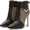 bicolor boots - Boots -