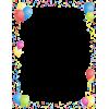 birthday border - Items -