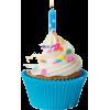 Birthday Cupcake  - Namirnice -
