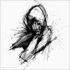 Black And White, Drawing - Hintergründe -