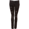 Black Ripped Jeans - Jeans - $100.00