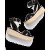 black Sandals - Sandals -