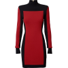 black and red dress - Dresses -
