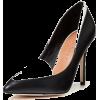 black and white shoes - Szaliki -