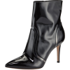 black ankle boots - Škornji -