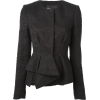 black blazer1 - Suits -