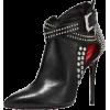 black boots0 - Čizme -