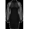 black dress1 - sukienki -