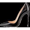 black heel - Klasične cipele -