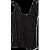 black layering tank - Majice bez rukava -