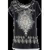 black mandala tunic - Tunic -