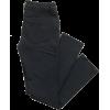black pants - Pantaloni capri -