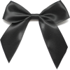 black satin bow - Corbatas -